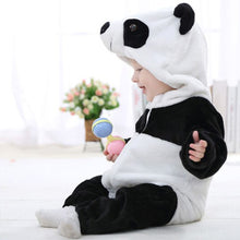 Load image into Gallery viewer, Baby Boy Girl Cute Panda Costume Newborn Infant Toddler Jumpsuit Romper Warm - shopbabyitems