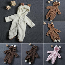 Load image into Gallery viewer, Newborn Baby Infant Boy Girl Fashion Romper Hooded Jumpsuit Bodysuit Outfits Clothes - shopbabyitems