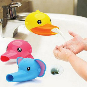 Happy Fun Animals Faucet Extender Baby Tubs Kids - shopbabyitems