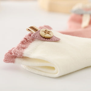 1 pair Baby Socks - Decorative Socks -  Soft Newborn Socks - shopbabyitems