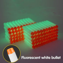 Load image into Gallery viewer, 100PCS Soft Bullets For Nerf Bullets Soft Hollow Hole Head 7.2cm Refill Darts Toy Gun Bullets Series Blasters Kid Children Gift - shopbabyitems