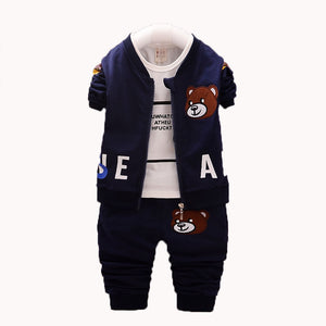 Baby Girls Suits Sports Children's Clothing Sets Baby Boys Spring Suit Set Baby Girl Long Sleeve Sets - shopbabyitems