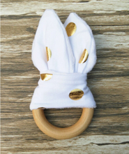 Load image into Gallery viewer, Handmade wooden natural baby teether - shopbabyitems