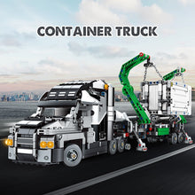 Load image into Gallery viewer, 1202pcs City Big Truck Engineering Buiding Blocks Legoing Technic Mark Container Vehicles Car Figures Bricks Toys For Children - shopbabyitems