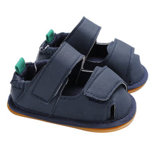 Load image into Gallery viewer, Magic Tape Faux Leather Baby Shoes Toddler Boy Girl Casual Hollow Crib Prewalker - shopbabyitems