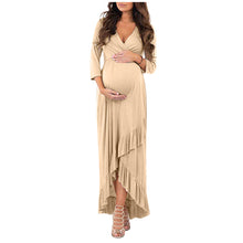 Load image into Gallery viewer, Ruffled Maternity Dress - shopbabyitems