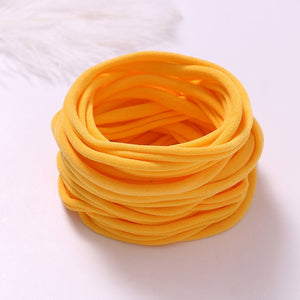 12pcs/lot Babies Accessories Newborn Elastic Nylon Headbands Headband - shopbabyitems