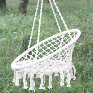 Swing Chair,  Outdoor leisure chair, white chair, hammock - shopbabyitems