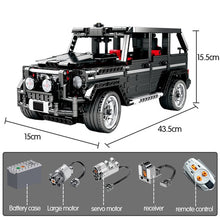 Load image into Gallery viewer, 1388pcs Creator Diy SUV Cross Country Car Building Blocks Legoingly Technic City RC Car AWD Vehicle Bricks Toys For Children - shopbabyitems