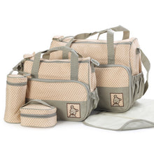 Load image into Gallery viewer, Baby Diaper Bag Suits For Mom Baby Bottle Holder Mother Mummy Stroller - shopbabyitems