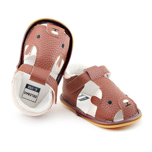 New Design Cute Brown Bear Summer Unique Rubber High Quality Baby Sandals - shopbabyitems