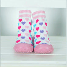 Load image into Gallery viewer, Children's Socks Rubber Soft Bottom Anti Slip Foot Warmer Socks hjs1034 - shopbabyitems