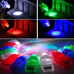 10Pcs Kids LED Party Light up Finger Lamps Dance Christmas Halloween Decor Toy - shopbabyitems