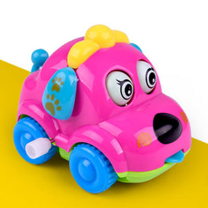 Cute Cartoon Running Car Wind Up Toy Clockwork Classic Baby Toddler Kids Toy - shopbabyitems