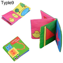 Load image into Gallery viewer, Infant Baby Intelligence Development Early Cognize Cloth Book Educational Toy - shopbabyitems