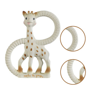 Giraffe Teether?Pure Teether Giraffe?8.89*1*11.9cm?Gift Box Package - shopbabyitems