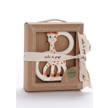 Load image into Gallery viewer, Giraffe Teether?Pure Teether Giraffe?8.89*1*11.9cm?Gift Box Package - shopbabyitems