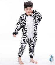Load image into Gallery viewer, Cartoon Zebra Baby Boys Girls Pajamas Children Clothing Unisex Kids Onesies Sleepwear MX-021 - shopbabyitems