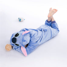 Load image into Gallery viewer, Cartoon Blue Stitch Baby Boys Girls Pajamas Children Clothing Unisex Kids Onesies Sleepwear MX-025 - shopbabyitems