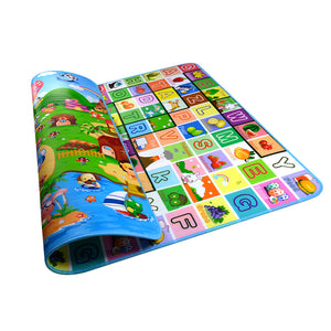 Children's Game Crawling Mat Baby  Mat Environmental Crawling Blanket EVA Foam Baby toys Carpet Double Sided - shopbabyitems
