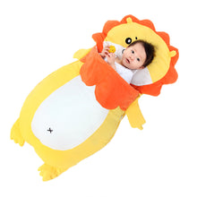 Load image into Gallery viewer, Baby bedding Baby sleeping bags Kids sleeping sack infant Toddler winter sleeping bag cartoon animals sleep bag lion XHY021 - shopbabyitems