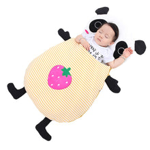 Load image into Gallery viewer, Baby bedding Baby sleeping bags Kids sleeping sack infant Toddler winter sleeping bag cartoon animals panda Strawberry XHY029 - shopbabyitems