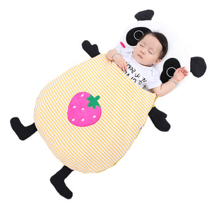 Baby bedding Baby sleeping bags Kids sleeping sack infant Toddler winter sleeping bag cartoon animals panda Strawberry XHY029 - shopbabyitems