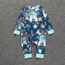 Load image into Gallery viewer, Baby Girl Clothes Autumn Baby Romper Spring Newborn Baby Clothes Long Sleeve Baby Boy Clothing Roupas Infant Jumpsuits KS-038 - shopbabyitems