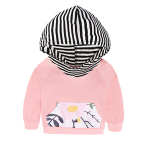 Spring Style Camouflage Baby Clothing Sets Long Sleeve Cotton Hooded Tops Pullover Striped Pants Outfit 2PCS Set KS-062 - shopbabyitems