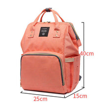 Load image into Gallery viewer, Baby Cute Travel Diaper Nappy Mummy Backpack Maternity Large Capacity Baby Bag - shopbabyitems