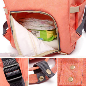Baby Cute Travel Diaper Nappy Mummy Backpack Maternity Large Capacity Baby Bag - shopbabyitems