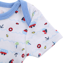 Load image into Gallery viewer, Infant Girl Boy Short Sleeve Romper Newborn Baby Cotton Ship Babysuit Jumpsuit - shopbabyitems