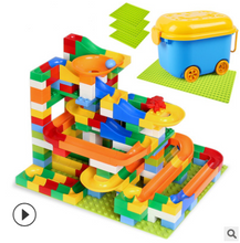 Load image into Gallery viewer, children large  particles assembled slide puzzle blocks - shopbabyitems