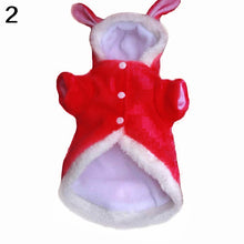 Load image into Gallery viewer, Winter Comfy Warm Cute Rabbit Costume Hoodie Pet Dog Puppy Clothes Coat Apparel - shopbabyitems