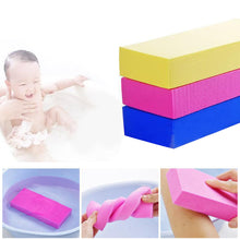Load image into Gallery viewer, PVA High Density Body Exfoliating Bath Sponge Shower Rub Tool for Baby Adults - shopbabyitems