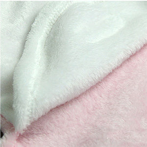 New Baby Infant Newborn Soft Warm Sleeping Bed Swaddle Blanket Bath Towel - shopbabyitems