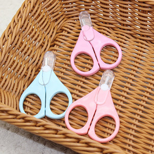 Newborn Infant Baby Care Safety Scissors Manicure Nail Clipping Cutter Tool - shopbabyitems