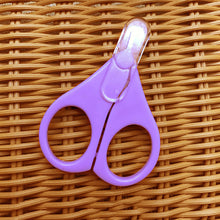 Load image into Gallery viewer, Newborn Infant Baby Care Safety Scissors Manicure Nail Clipping Cutter Tool - shopbabyitems