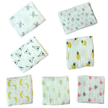 Load image into Gallery viewer, Cute Cartoon Pattern Newborn Baby Swaddle Cotton Infant Sleep Blanket Bath Towel - shopbabyitems