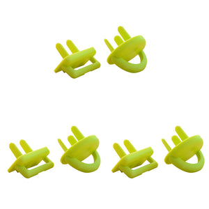 6Pcs Safety Electric Outlet Plug Covers Children Baby Protector Security Guard - shopbabyitems