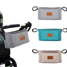 Load image into Gallery viewer, Portable Baby Stroller Pram Pushchair Hanging Storage Bag Bottle Diaper Pouch - shopbabyitems