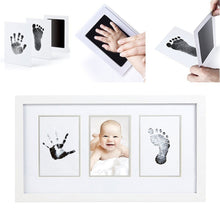 Load image into Gallery viewer, Newborn Baby Safe Reusable Handprint Footprint Inkpads Toddlers Shower Gift - shopbabyitems