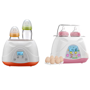 Multiuse Baby Feeding Sterilizer Double Bottle Food Milk Electric Warmer Heater - shopbabyitems