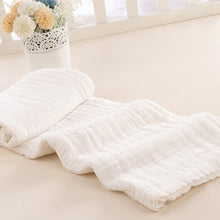 Load image into Gallery viewer, Newborn Infants Cotton Large Bath Towel Solid Color 10 Layers Soft Washcloth - shopbabyitems