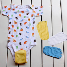 Load image into Gallery viewer, Baby Romper Partner Super Utility Bodysuit Jumpsuit Diaper Lengthen Extend Film - shopbabyitems