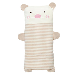 Stripe Cartoon Animal Cute Newborn Baby Organic Cotton Shaping Pillow Cushion - shopbabyitems
