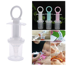Load image into Gallery viewer, Baby Infant Clear Syringe Pacifier Medicine Dropper Dispenser Water Milk Feeder - shopbabyitems