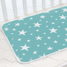 Load image into Gallery viewer, Lovely Cartoon Infant Baby Crib Changing Mat Cotton Waterproof Reusable Diaper - shopbabyitems