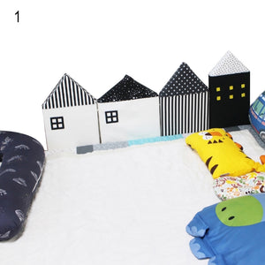 Kids Home Baby Wall Safety Protection Bar Sleeping Mat Children Bed Crib Fence - shopbabyitems