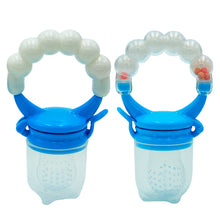 Load image into Gallery viewer, Portable Silicone Baby Toddler Fruit Food Feeder Teether Pacifier Feeding Tool - shopbabyitems